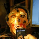 The mask is controlled from the phone